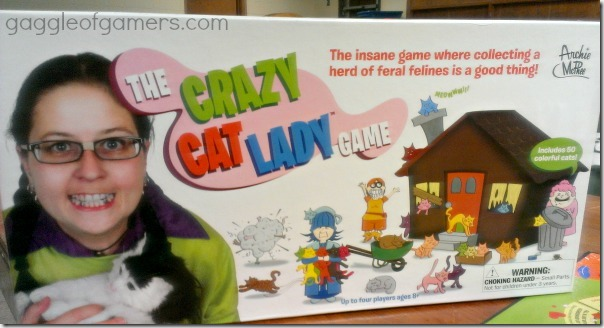Crazy Cat Lady Game - Gaggle of Gamers