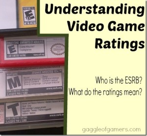 Understanding Video Game Ratings