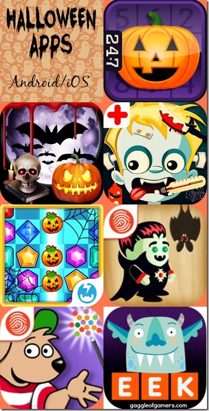 Halloween Apps for Android and iOS - Gaggle of Gamers