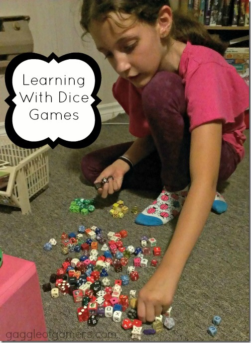 Learning With Dice Games at Gaggle of Gamers