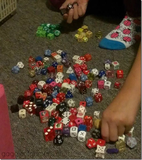 Learning With Dice Games - Different Kinds of Dice