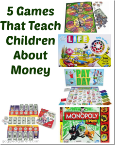 5 Games That Teach Children About Money