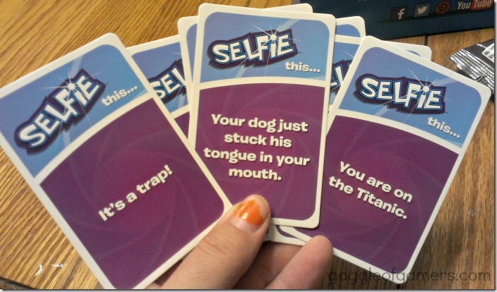 Selfie Game Cards