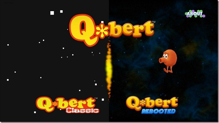 Q*bert Classic and Q*bert Rebooted