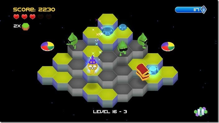 Q*bert Rebooted on PS3, PS4 and PSVita