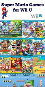 Super Mario Games for Wii U #SuperMario
