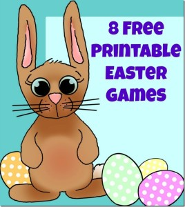 8 Free Printable Easter Games