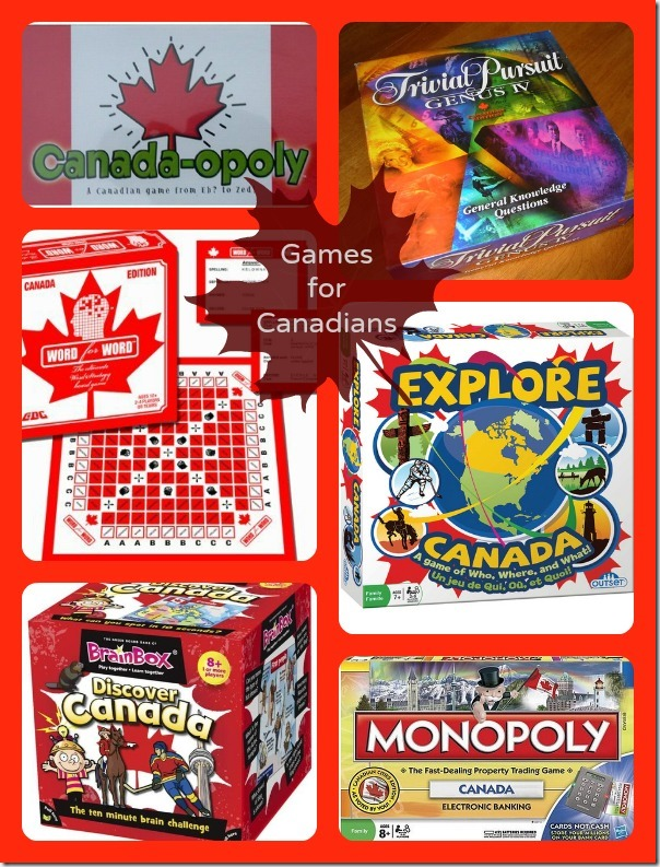 Games for Canadians