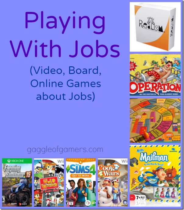 Games About Jobs