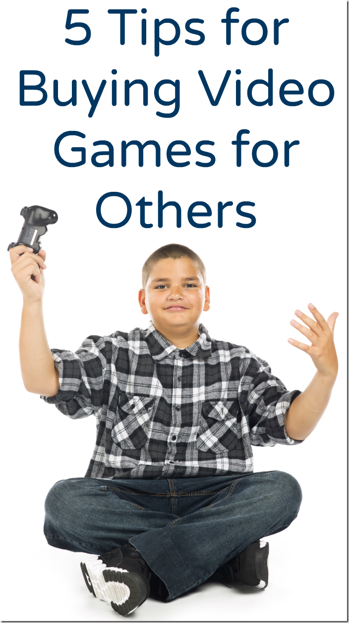 5 Tips for Buying Video Games for Others