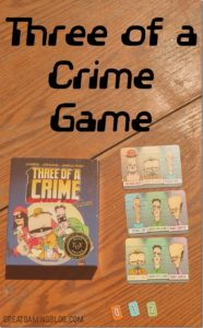 Three of a Crime Game