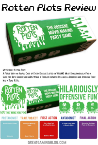 Rotten Plots: The Obscene Movie Making Game