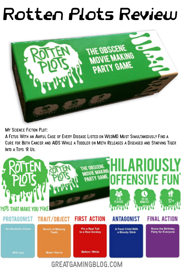 Rotten Plots Review: Obscene Movie Making Game