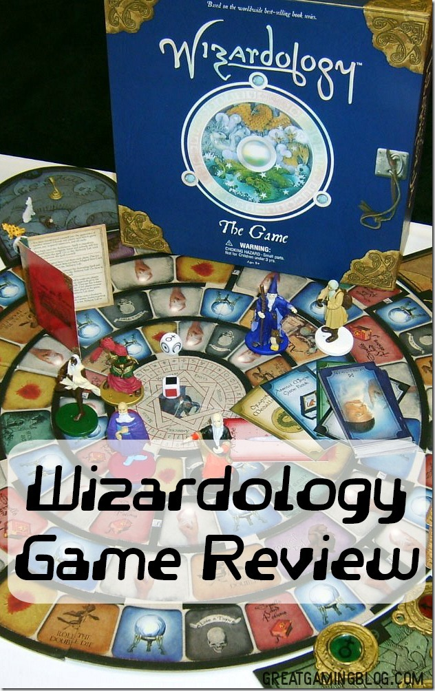 A game review of Wizardology The Game on Great Gaming Blog