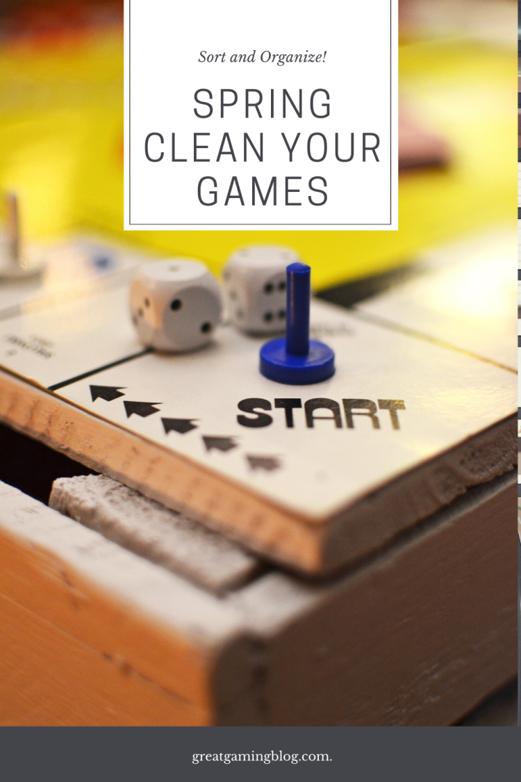 Spring Clean Your Games - How To and Tips - GreatGamingBlog.com