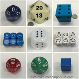 Dice Emporium Samples