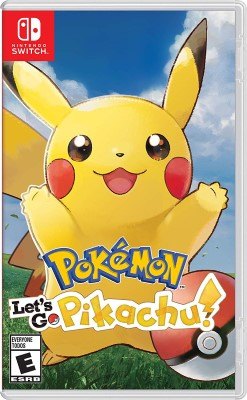 Let's Go Pikachu Nintedo Switch