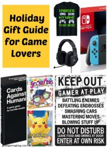 Holiday Gift Guide for Game Lovers