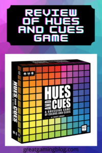 Review of Hues and Cues Board Game