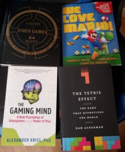I recently bought some new video game books to add to my collection and of course read. I wanted to share them with you.