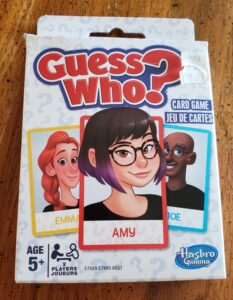 Guess Who Card Game from Hasbro